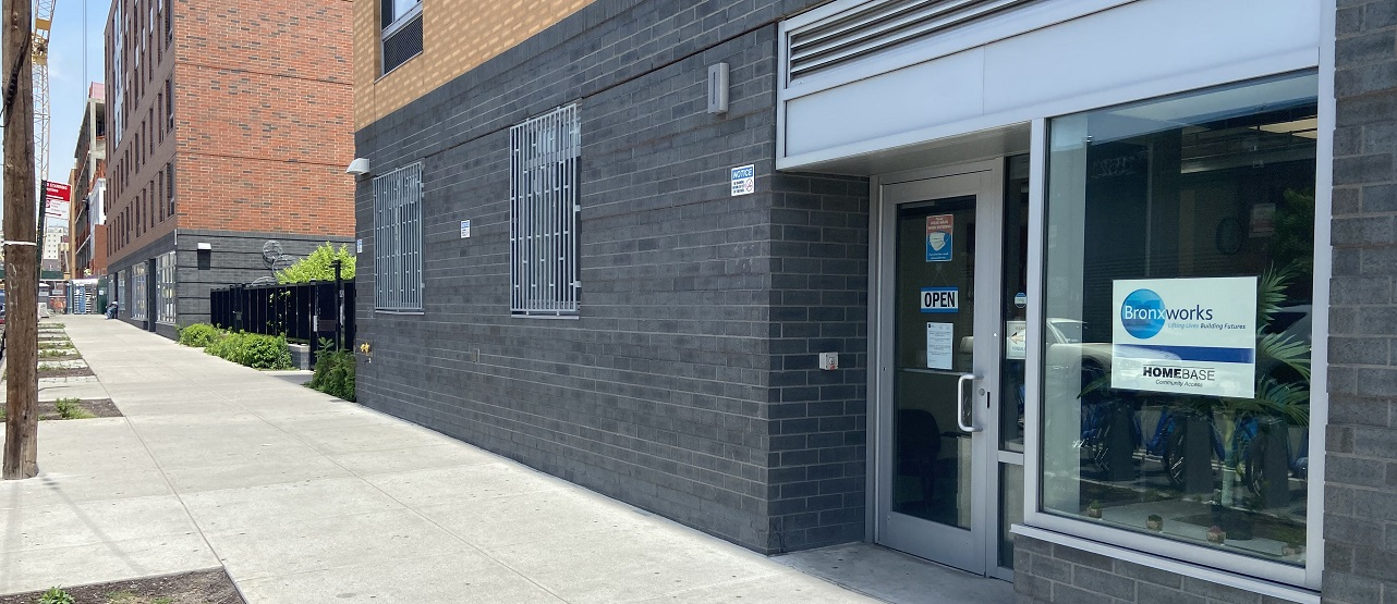 the outside of one of the BronxWorks locations