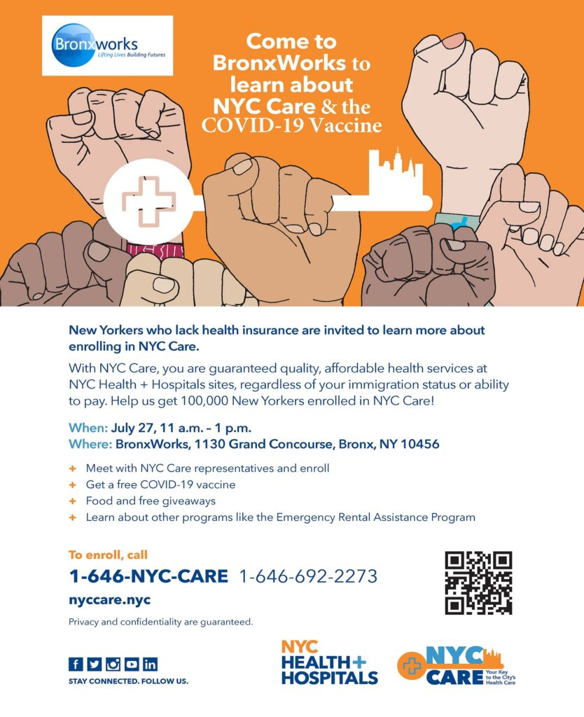 NYC Care Flyer